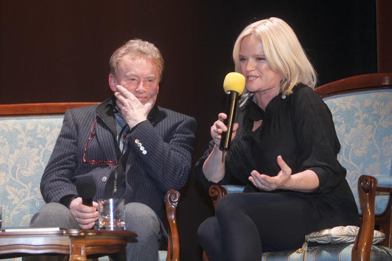 Daniel Olbrychski, Katarzyna Figura