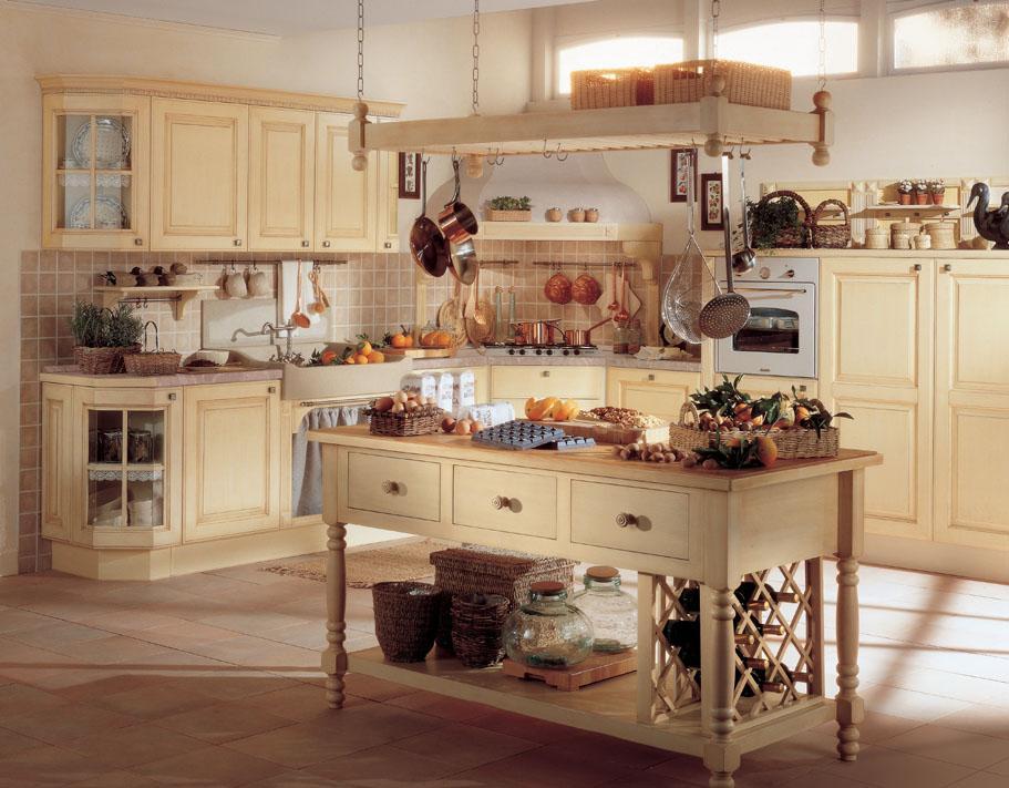 Berloni - klasyczne meble kuchenne - zdjęcie