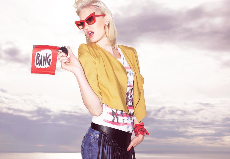 Bershka - kampania promująca sezon wiosna/lato 2011