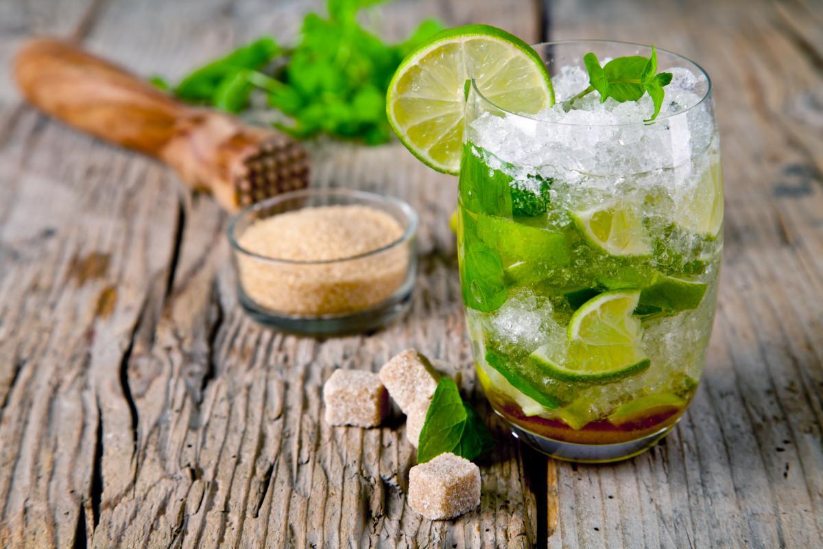 bezalkoholowe drinki - mojito