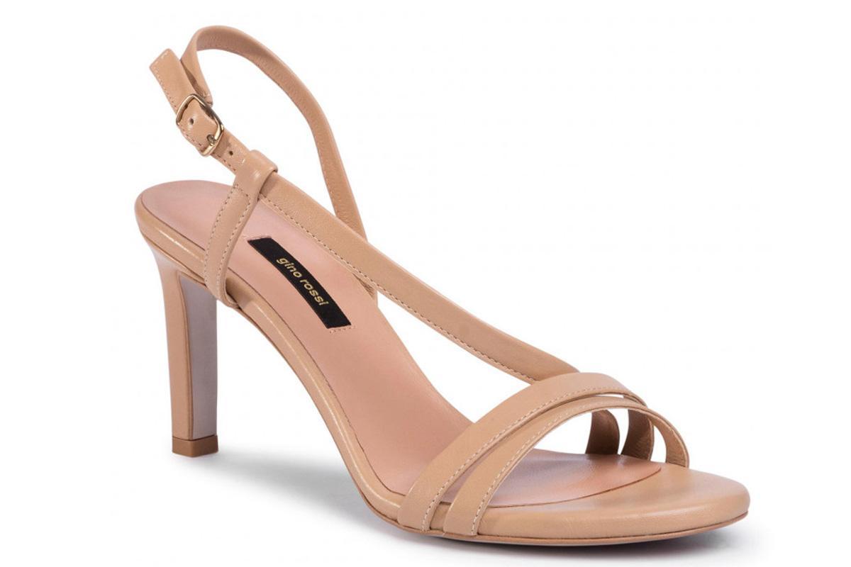 beżowe sandały gino rossi z wyprzedaży