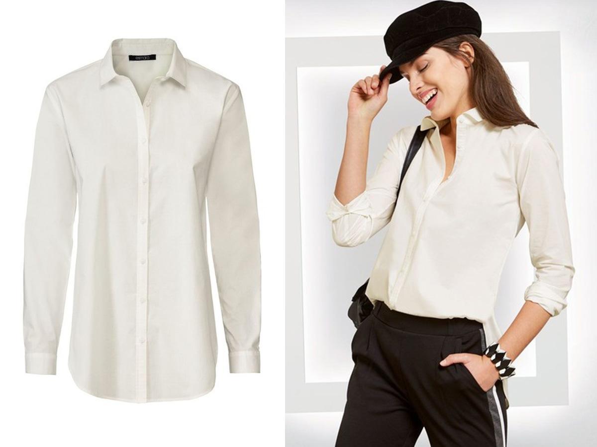 Biała koszula Lidl