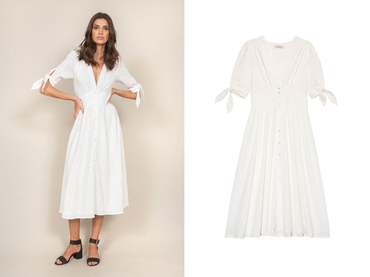Biała sukienka Anny Lewandowskiej - gdzie kupić?