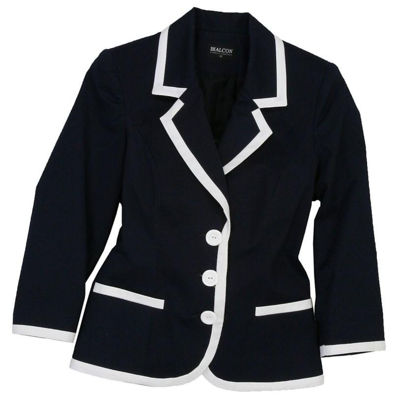 czarny żakiet Bialcon - kolekcja letnia