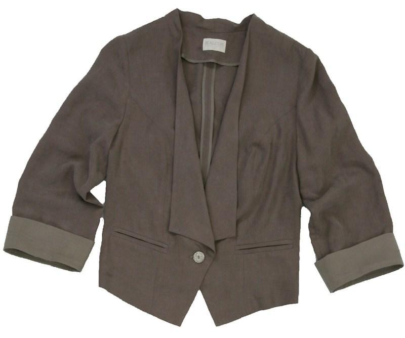 brązowy żakiet Bialcon - kolekcja wiosenno/letnia