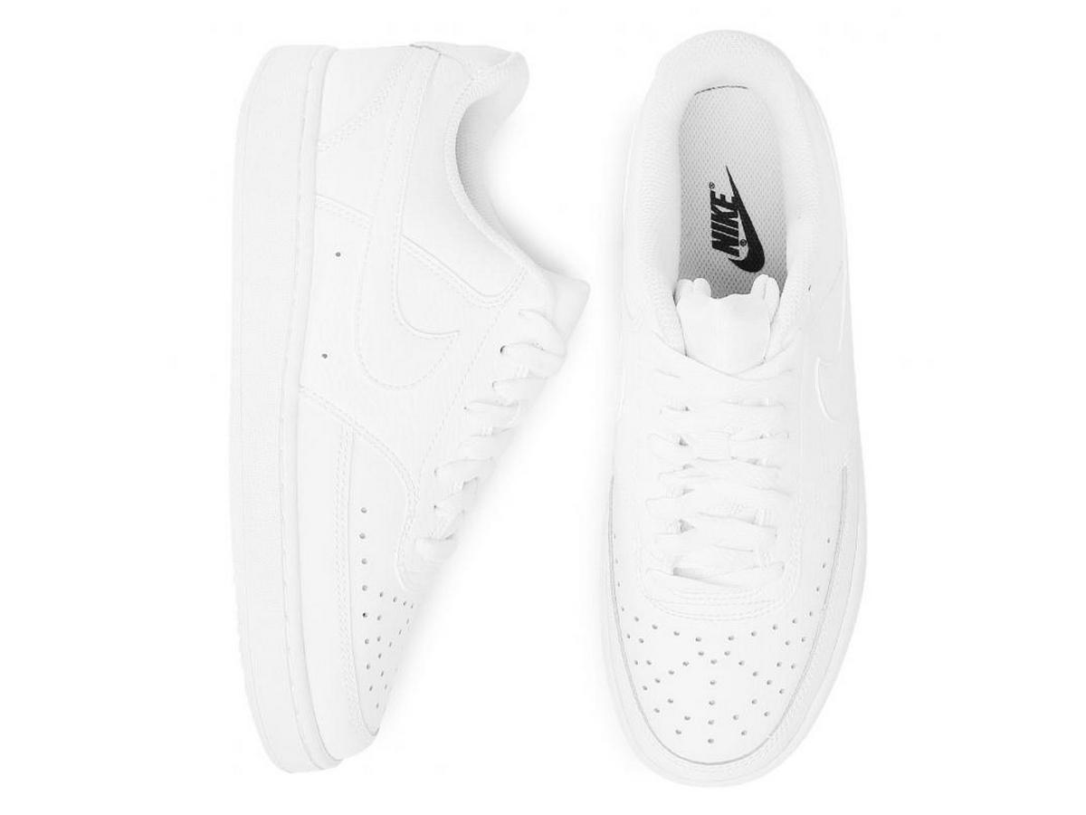 białe sneakersy Nike Dody
