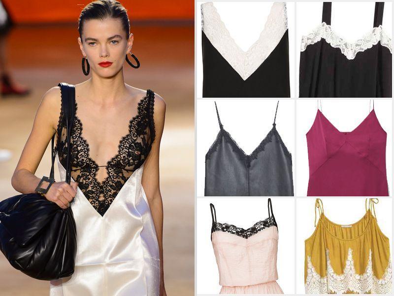 1cf11439ae Bieliźniana sukienka - Moda lato 2016 - Trendy sezonu - Trendy ...