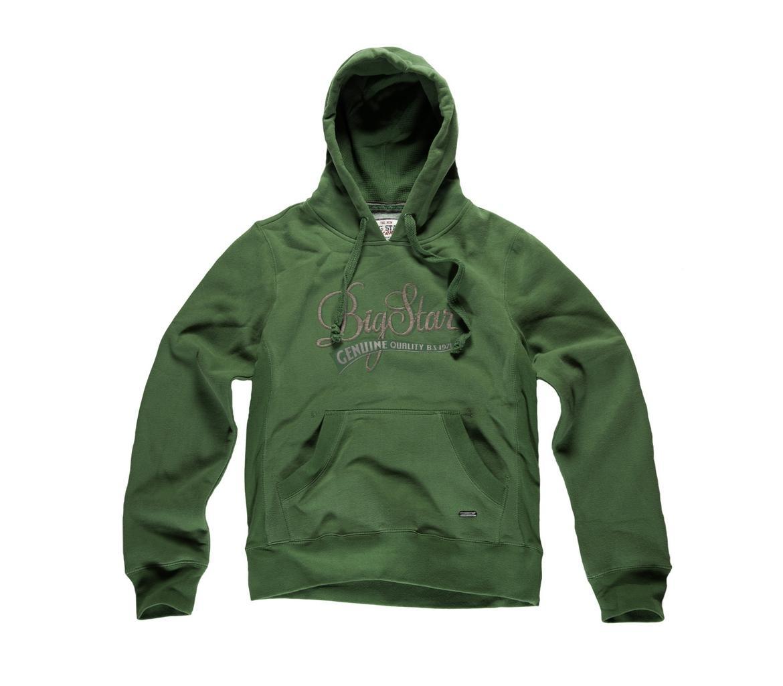 zielona bluza Big Star z kapturem - wiosna/lato 2011
