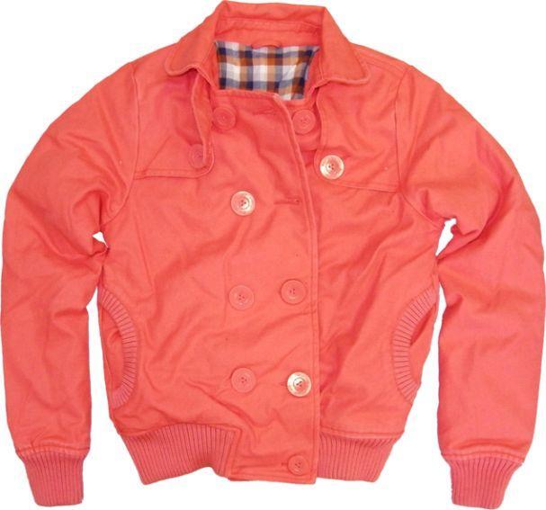 czerwona kurtka Big Star - wiosenna kolekcja