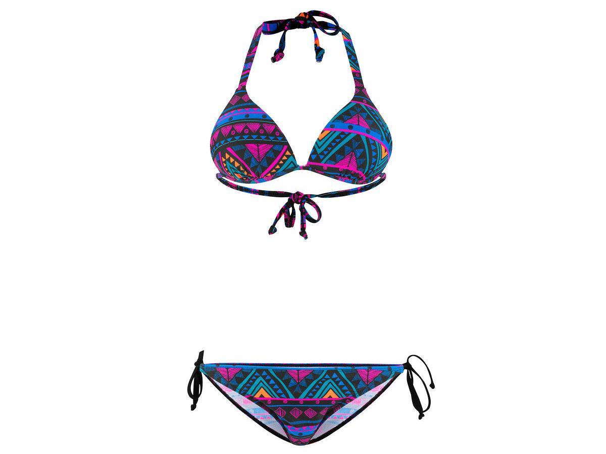 Bikini we azteckie wzory, Bonprix, cena ok. 99,99 zł