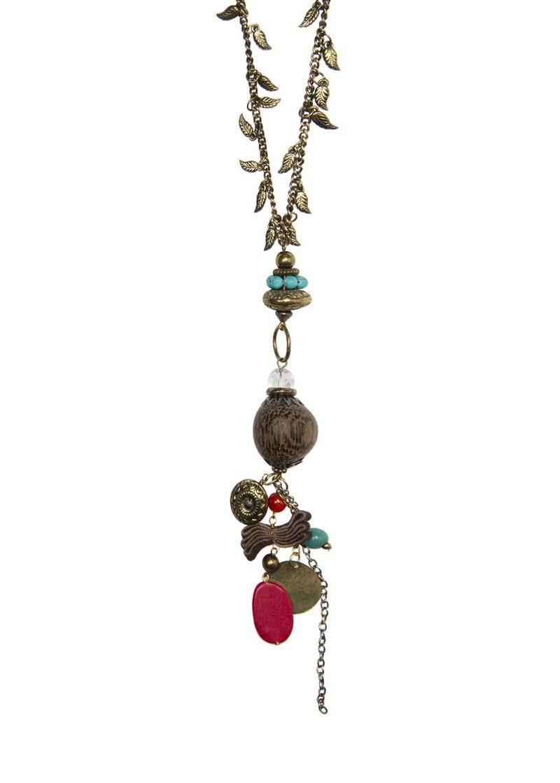 złoty naszyjnik Mango - kolekcja wiosenno/letnia - Biżuteria