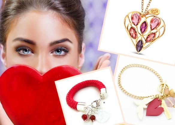 Biżuteria na prezent walentynkowy dla niej