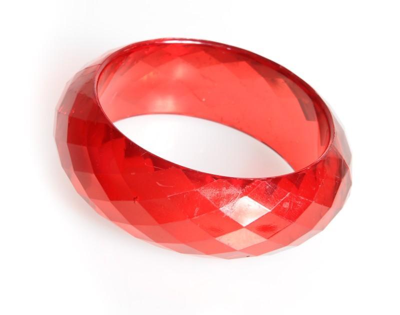 czerwona bransoletka Stereo - jesień/zima 2010/2011