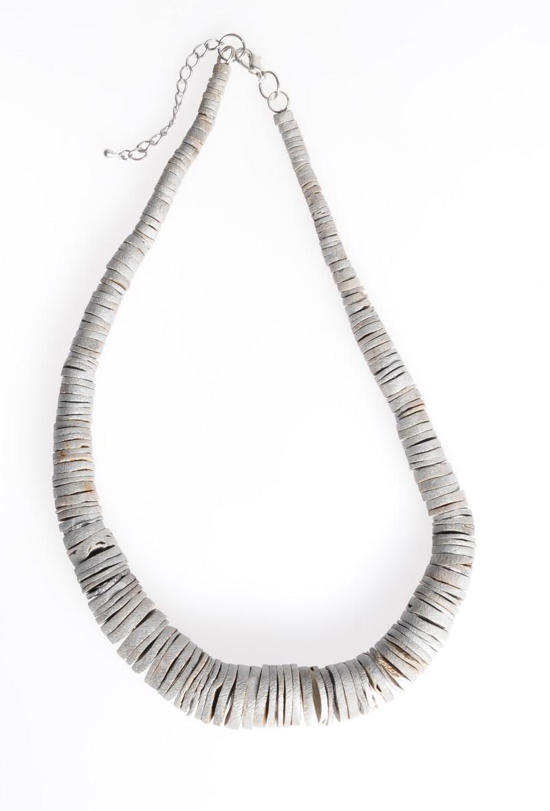 srebrny naszyjnik Stereo - jesień/zima 2010/2011