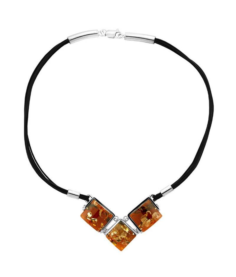 Biżuteria z bursztynami Apart - Zdjęcie 1