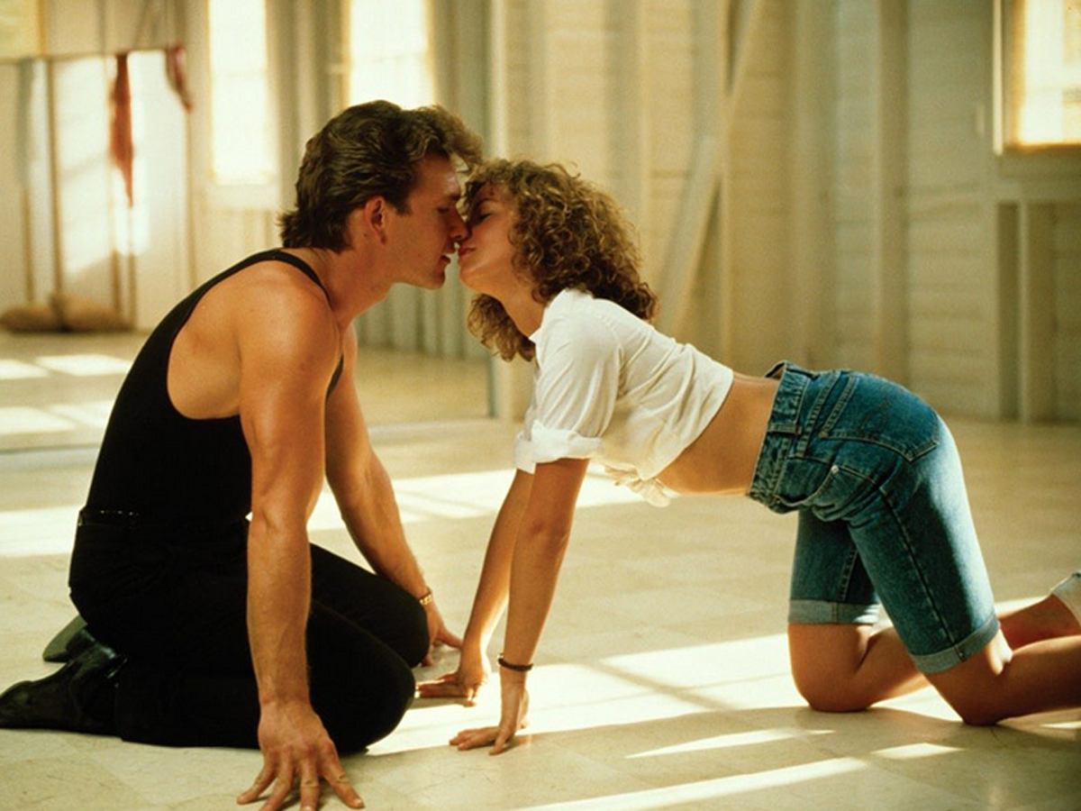 "Kadr z filmu ""Dirty Dancing"""