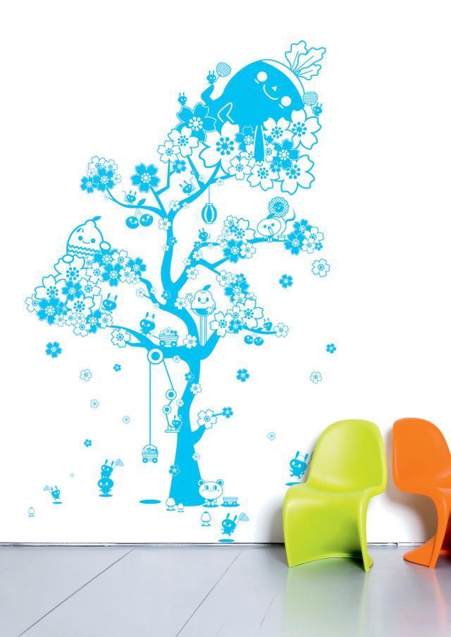 Błękit na salonach