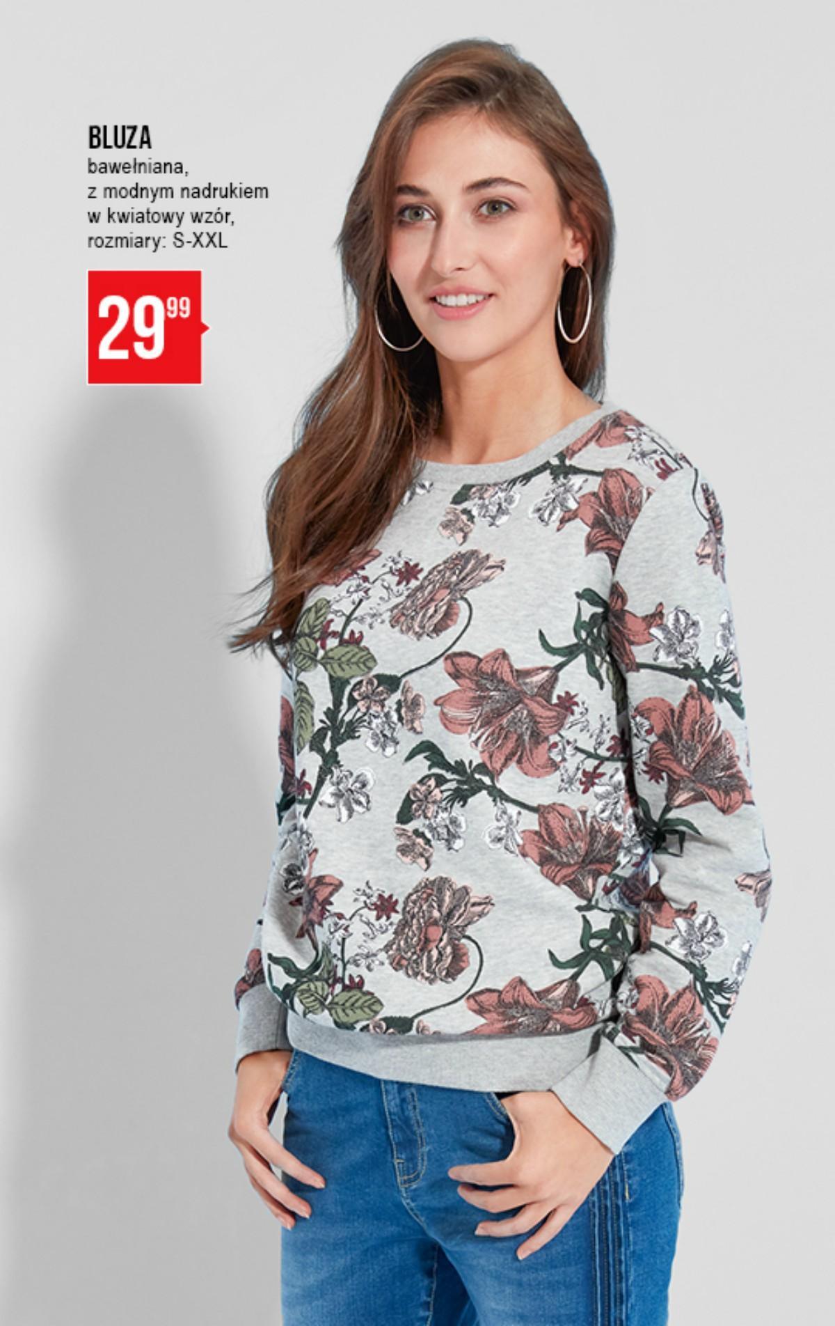 Bluza roślinny motyw - PEPCO 29,99 zł