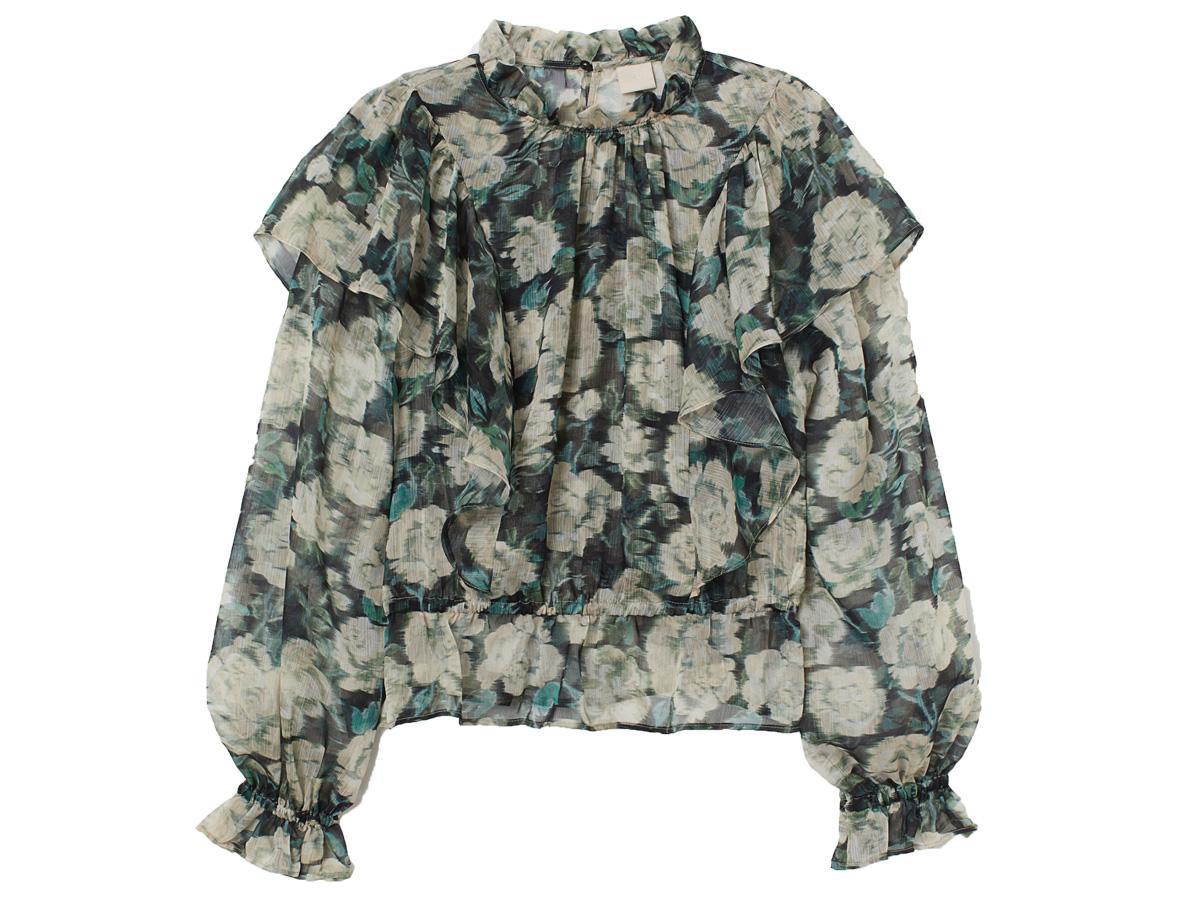 bluzka w kwiaty H&M