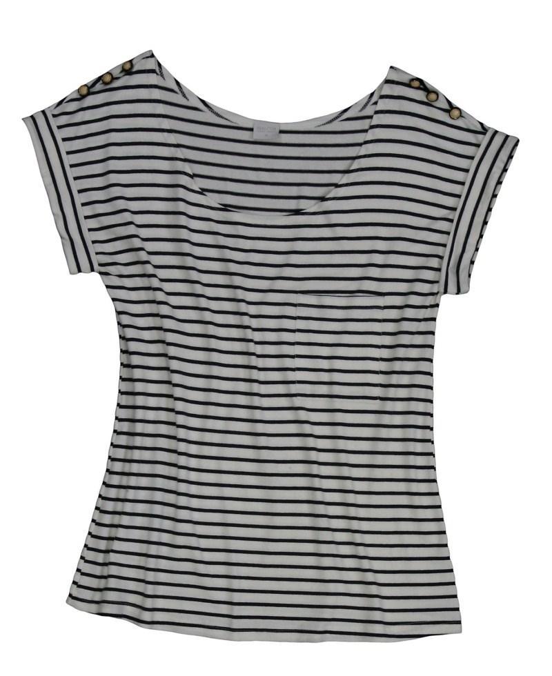 bluzka Bialcon w paski - wiosna/lato 2011