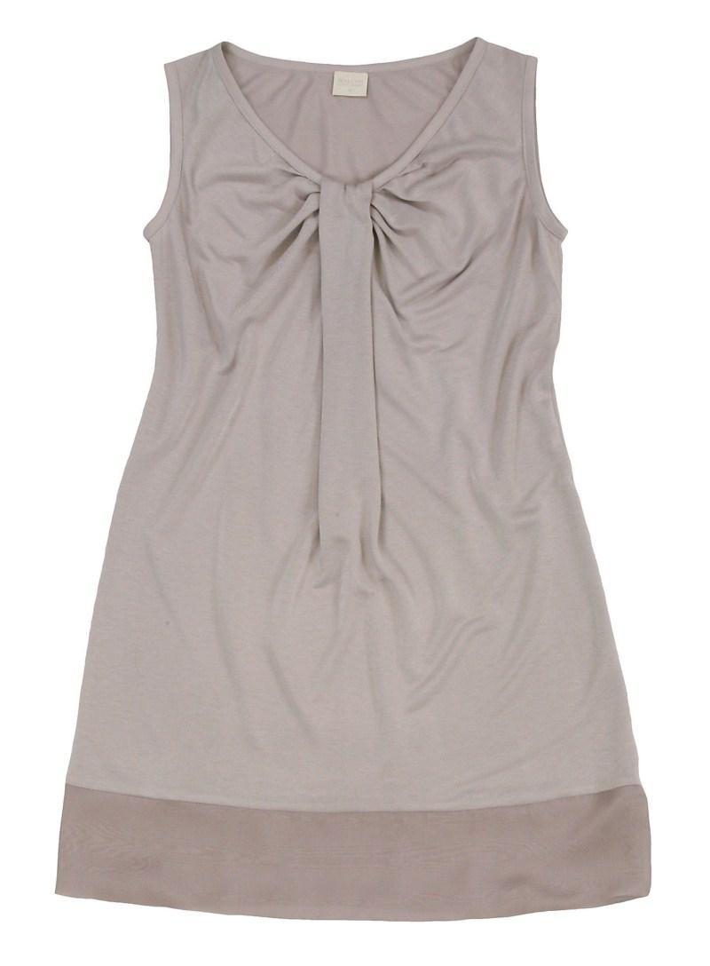 beżowa bluzka Bialcon - sezon wiosenno-letni