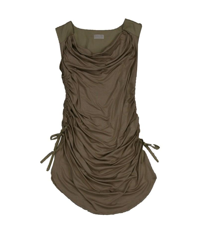 brązowa bluzka Bialcon - moda 2011