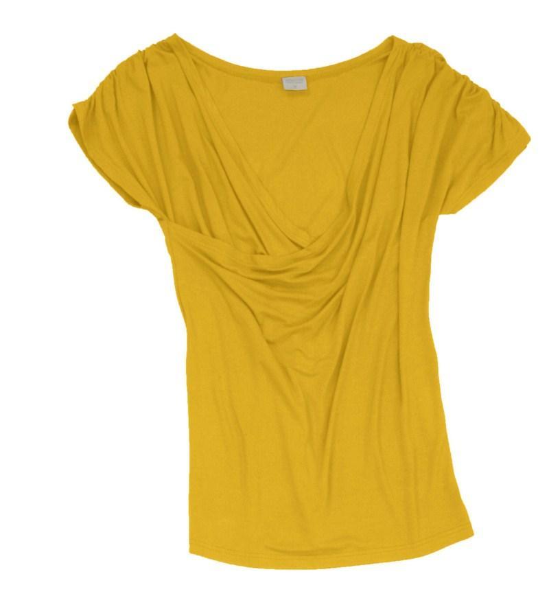 żółta bluzka Bialcon - moda 2011