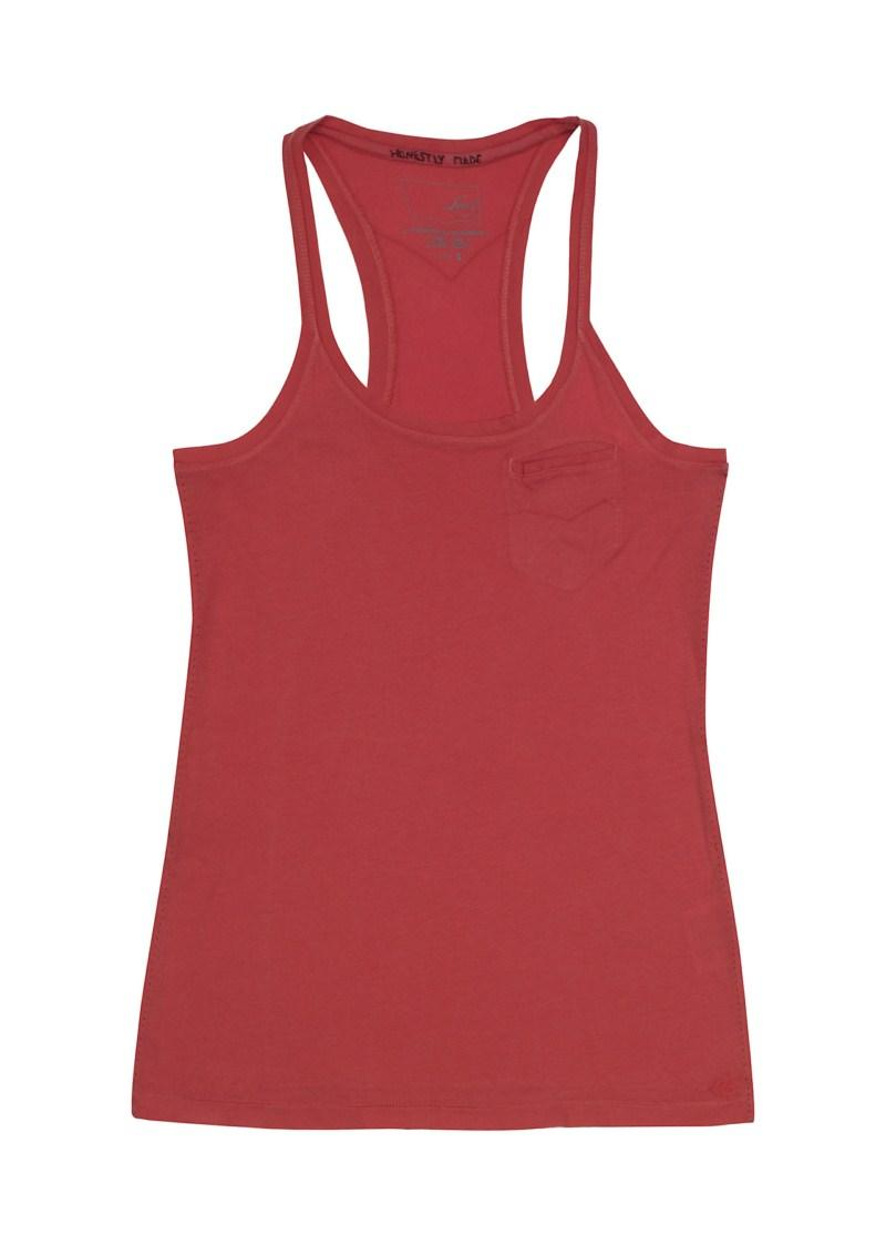 czerwona koszulka Levis bokserka - wiosenna kolekcja