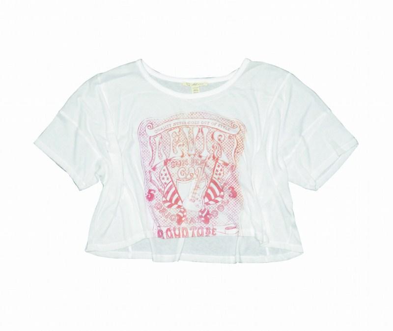 Bluzki dla kobiet Levis z kolekcji wiosna-lato 2011