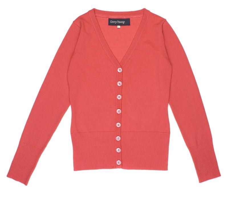 czerwony sweter Carry rozpinany - kolekcja wiosenna