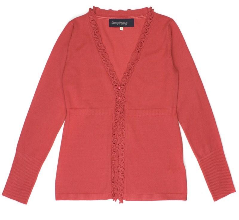czerwony sweter Carry - moda 2011