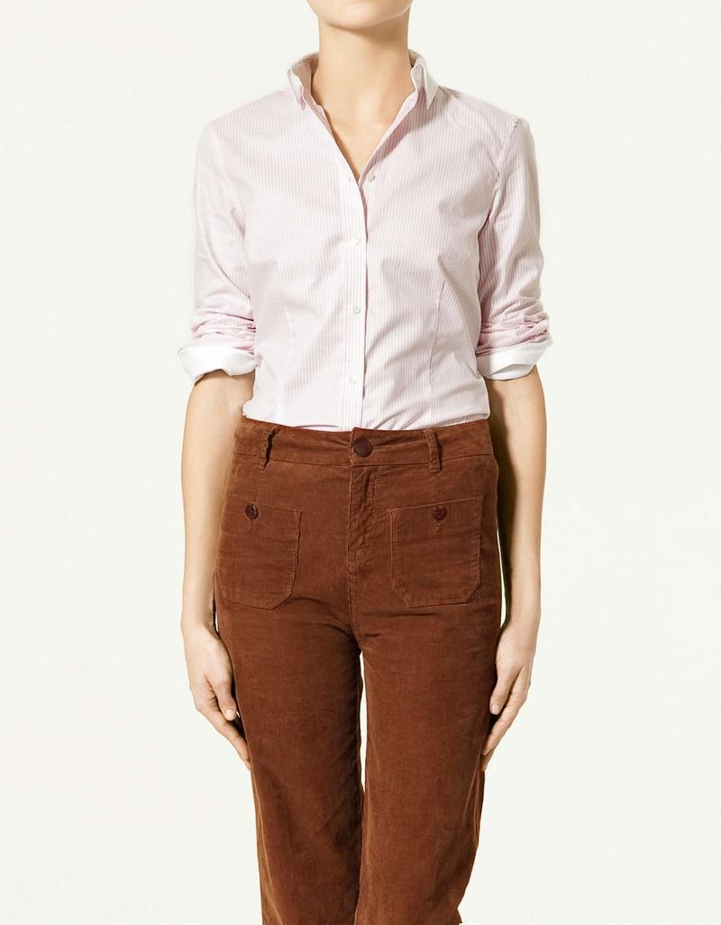 różowa koszula ZARA - moda wiosna/lato
