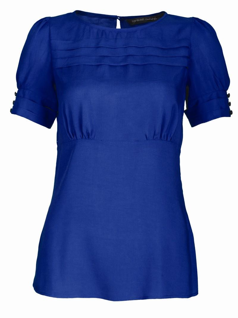 niebieska bluzka Top Secret - wiosna 2011