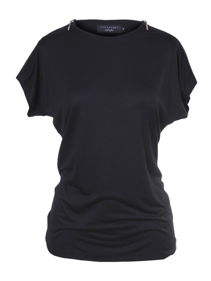 czarna bluzka Top Secret - z kolekcji wiosna-lato 2011