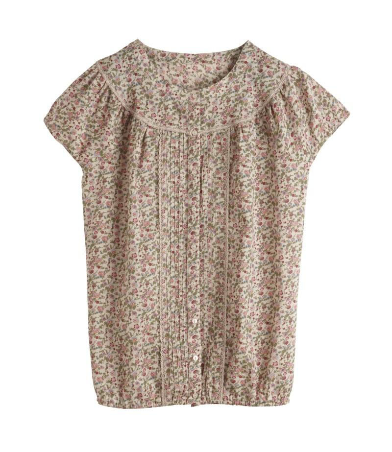 beżowa bluzka Camaieu - moda 2011