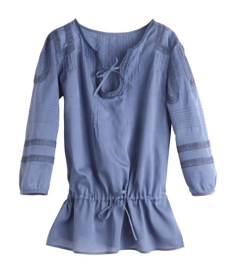 niebieska bluzka Camaieu - kolekcja wiosenna