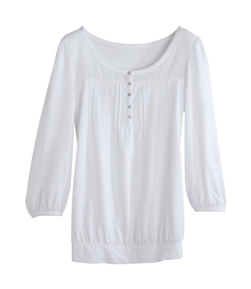 biała bluzka Camaieu - kolekcja wiosenna