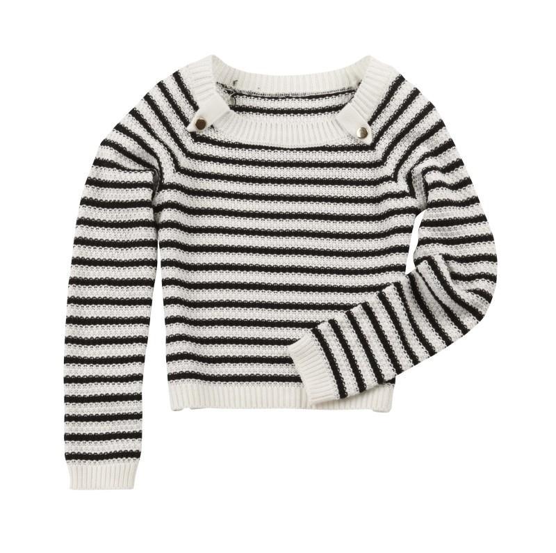 sweter Camaieu w paski - moda 2011