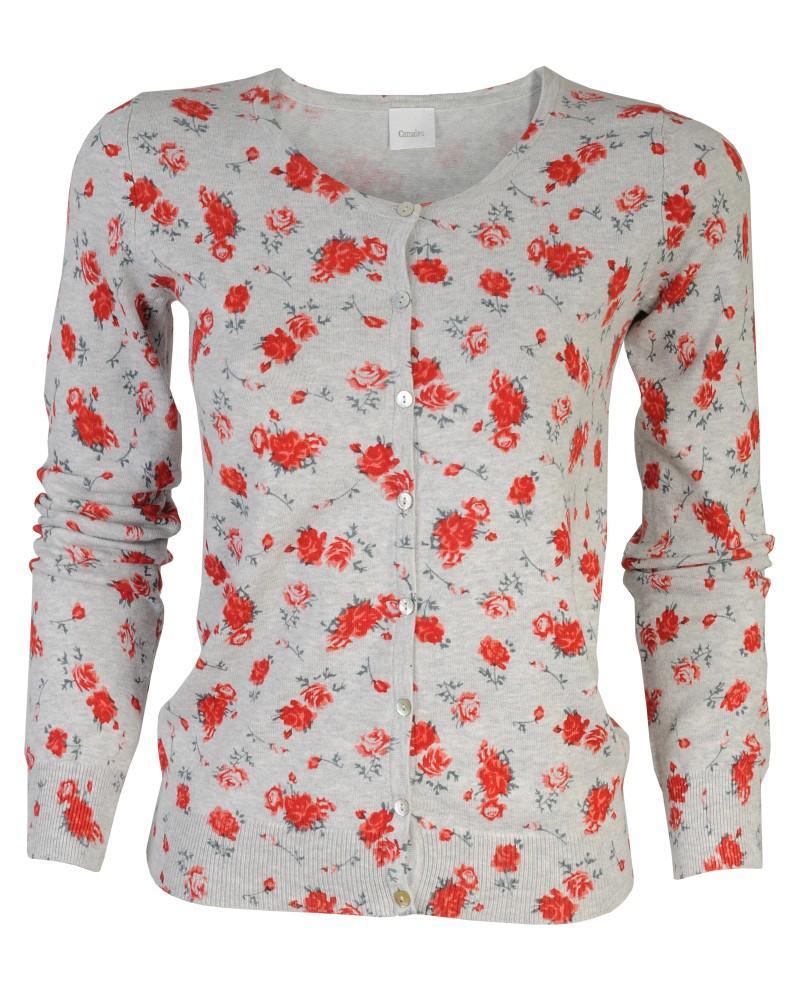 szary sweter Camaieu - moda 2011