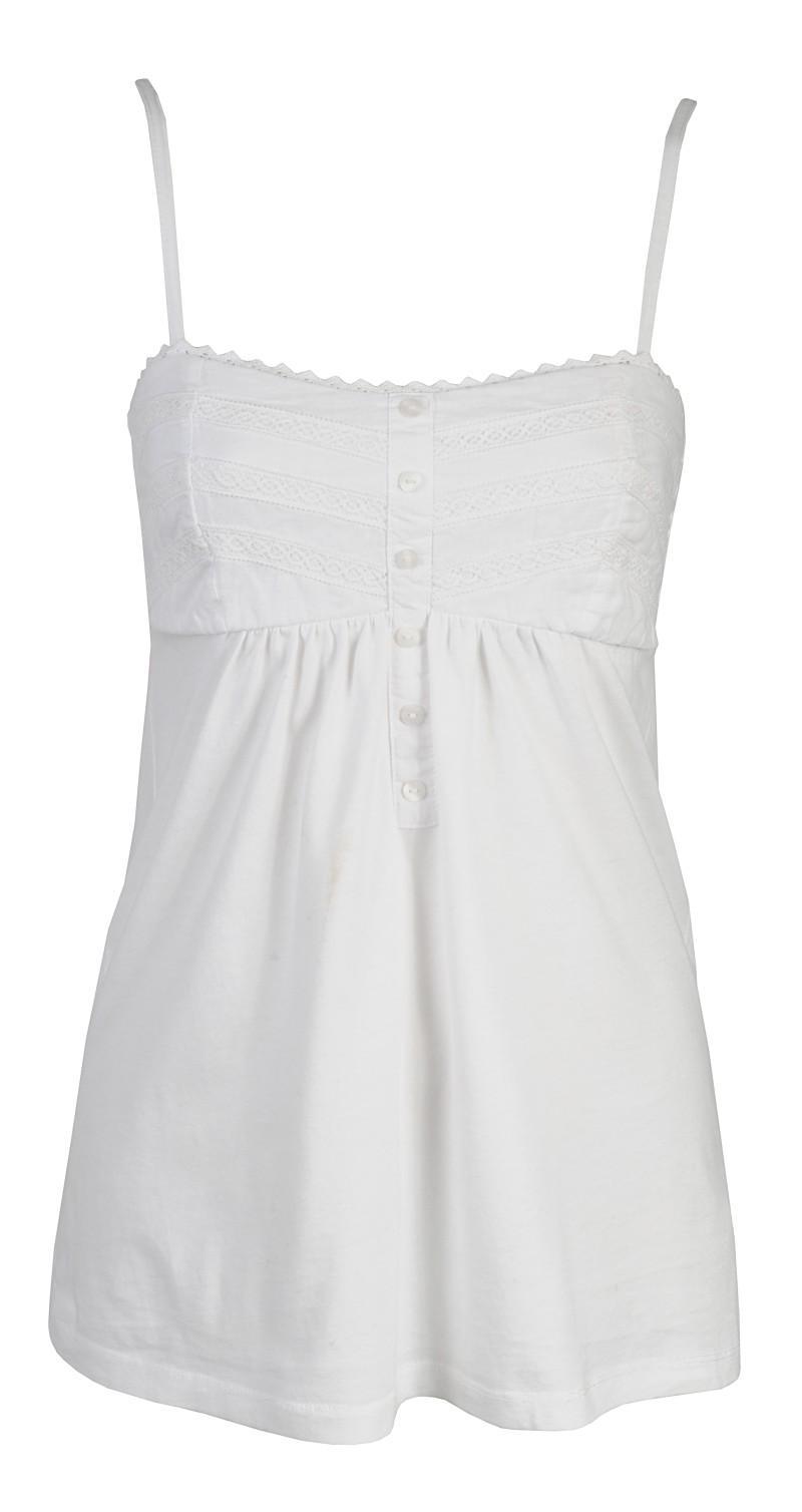 biała bluzka Camaieu - wiosna/lato 2011