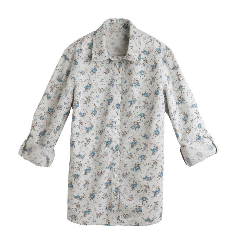 szara bluzka Camaieu - moda 2011