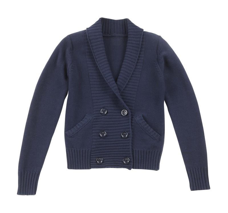 granatowy sweter Camaieu - moda 2011