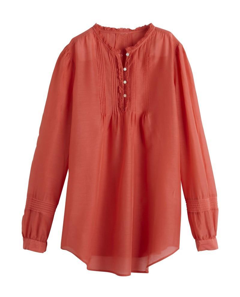 czerwona bluzka Camaieu - wiosenna kolekcja