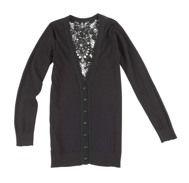czarny sweter Camaieu - wiosenna kolekcja