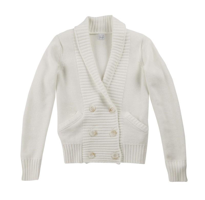 biały sweter Camaieu - moda 2011
