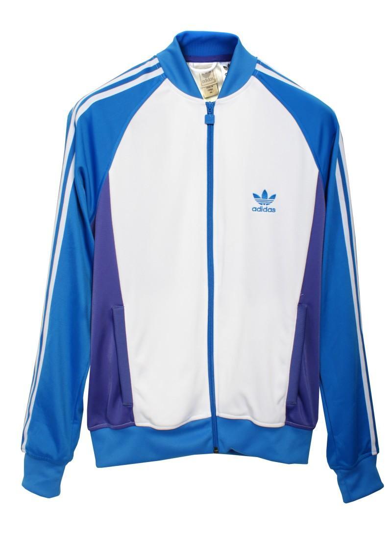 błękitna bluza Adidas jesieńzima 2010 Bluzy męskie z