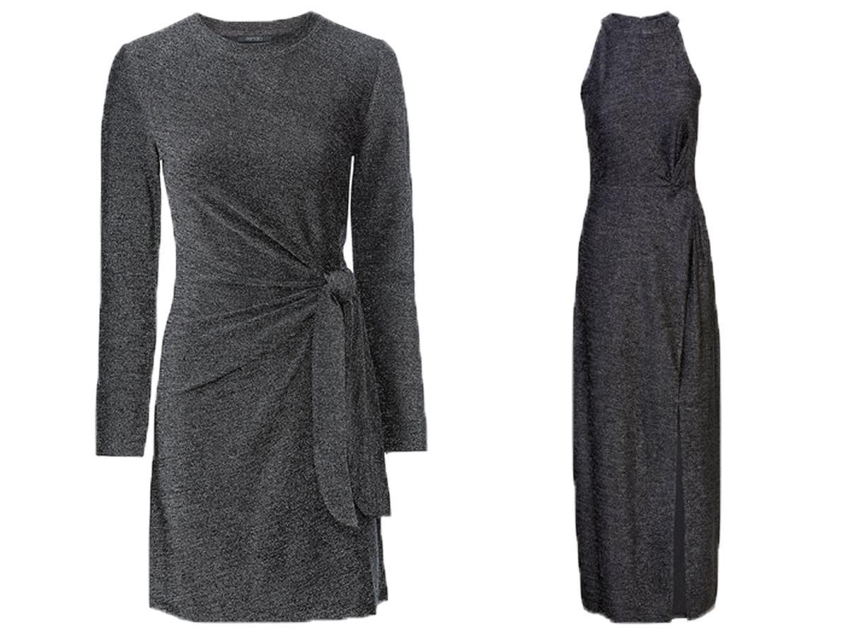 Błyszczące sukienki Lidl