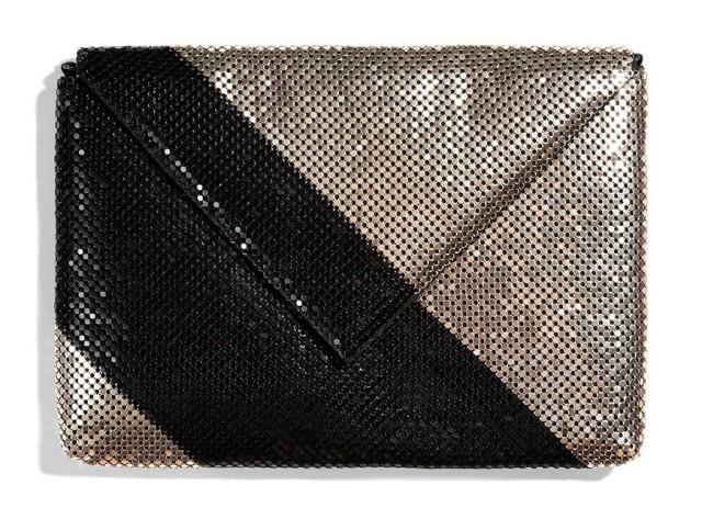 Dwukolorowa kopertówka marki Reserved, 69,99 zł