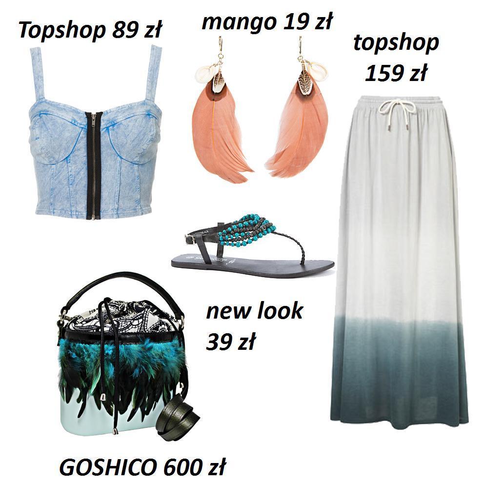 Boho chic - idealne zestawy dla hippisek
