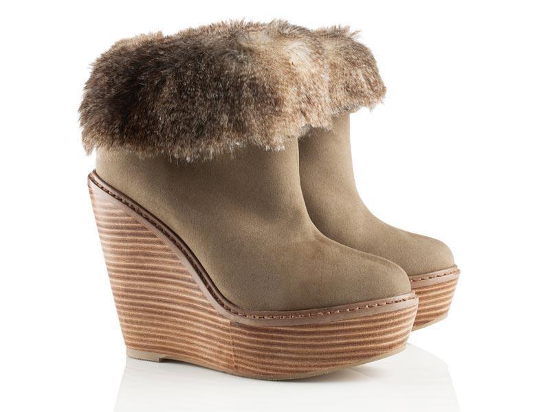 botki z futerkiem, buty